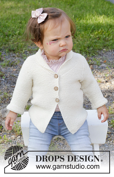 Free Knitting Pattern for Busy Lizzie Baby Jacket
