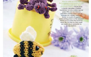 Knit Patterns for Garden Bugs
