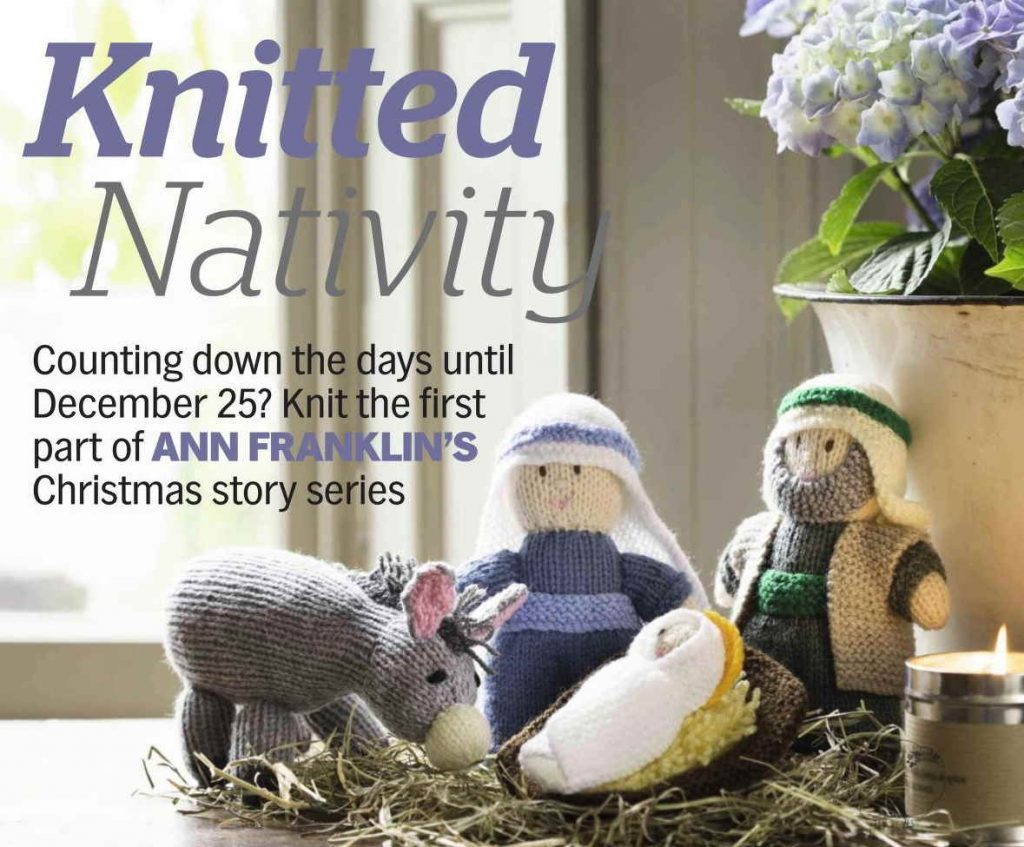 Knitted Nativity Pattern Toy