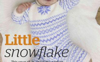 Little-Snowflake-Fair-Isle-Baby-Bodysuit-Pattern