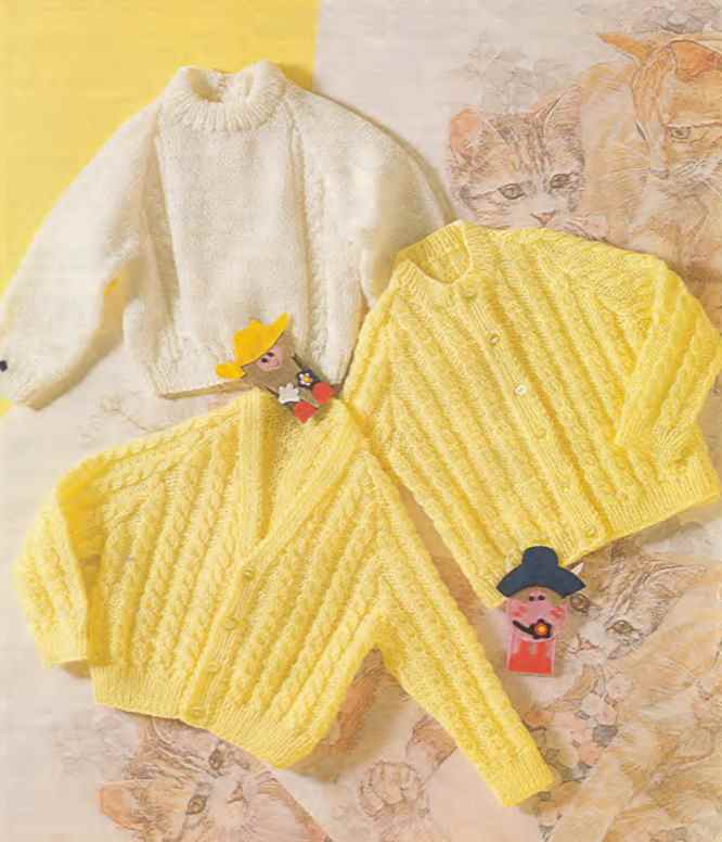 Patons trio baby knitting pattern download