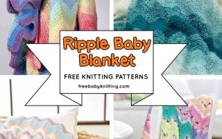 Ripple Baby Blanket Knitting Patterns